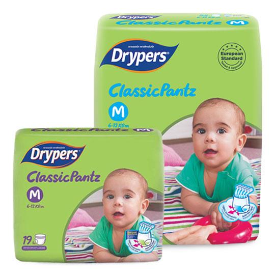 Drypers ClassicPantz size M