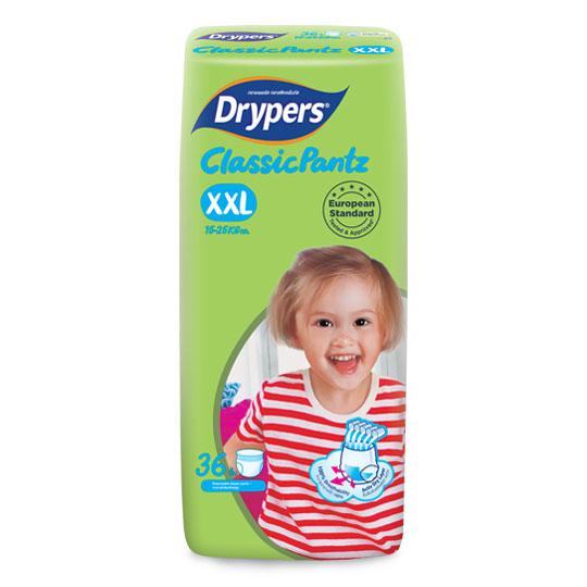 Drypers ClassicPantz size XXL