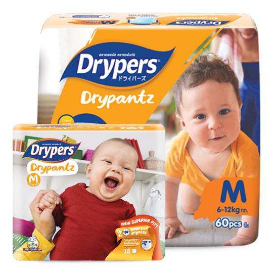 Drypers Drypantz Size M