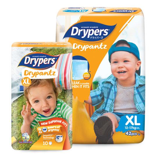 Drypers Drypantz Size XL