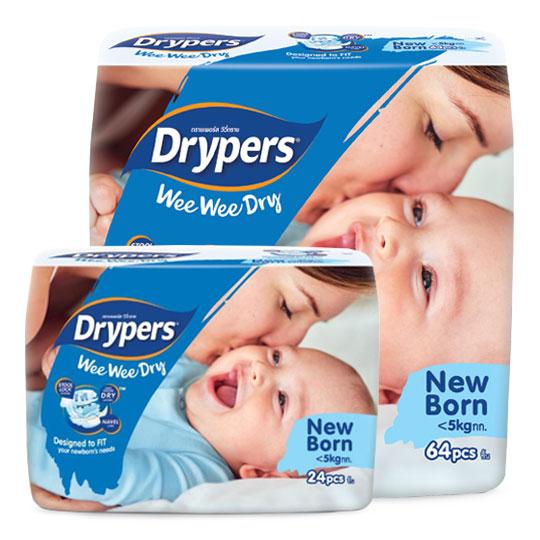 Drypers Wee Wee Dry Newborn