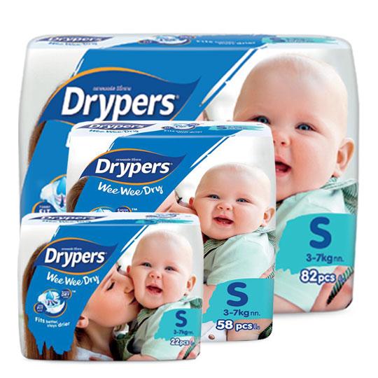 Drypers Wee Wee Dry size S