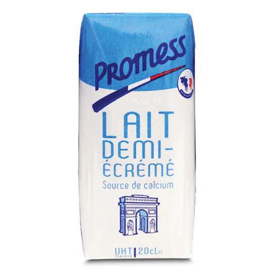Promess Semi-Skimmed Milk 200ml