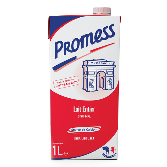 Promess Whole Milk 1L