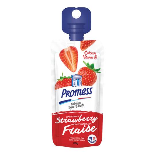 Promess Yoghurt Strawbery 80g